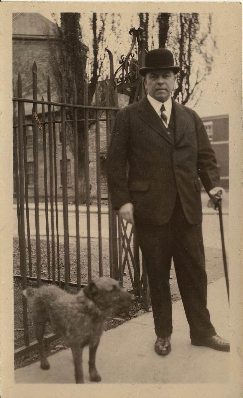 William Lyon MacKenzie with Pat
